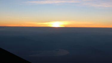 富士山から見る日の出
