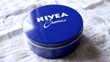妊娠線予防にニベアの大缶を大量消費しました